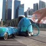 i-H2GO, un coche de juguete utiliza agua como combustible