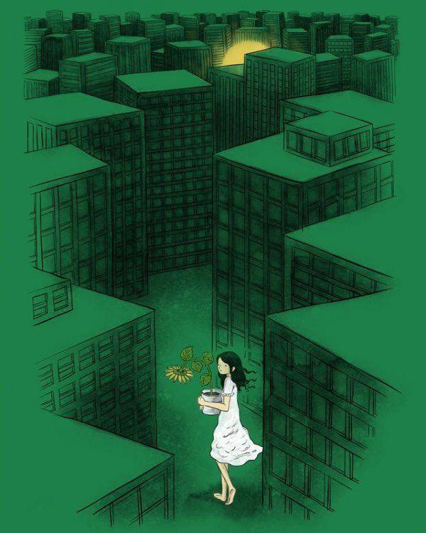 Ilustraciones positivas de Lim Heng Swee (7)