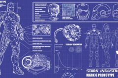 Iron Man Blue Prints