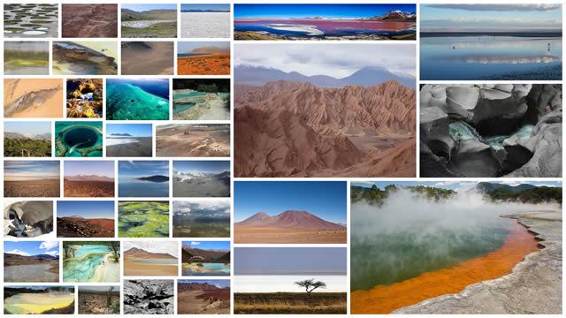 Lugares en la Tierra que parecen de otro planeta