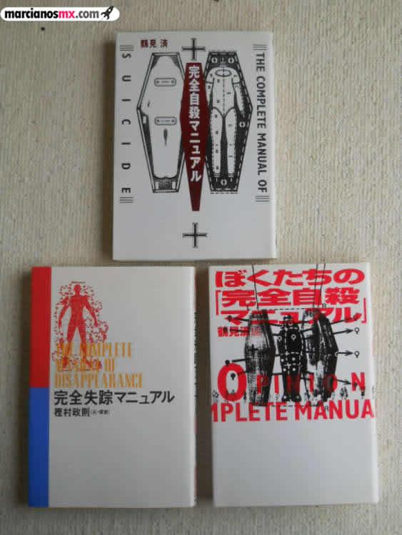 tres libros del suicidio