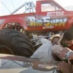 Accidente Monster Truck en Aero Show Extremo, Chihuahua