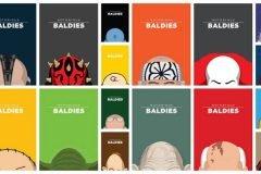 Notorious Baldies calvas famosas cultura pop