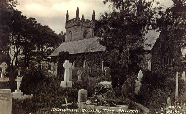 la iglesia en Mawnan