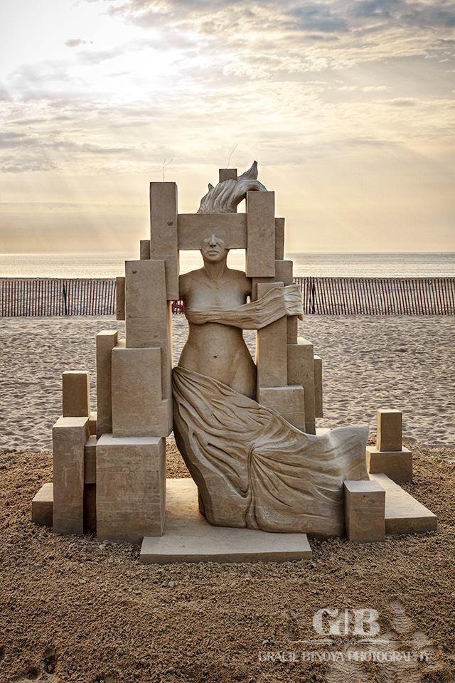 Esculturas arena Guy-Olivier Deveau (11)