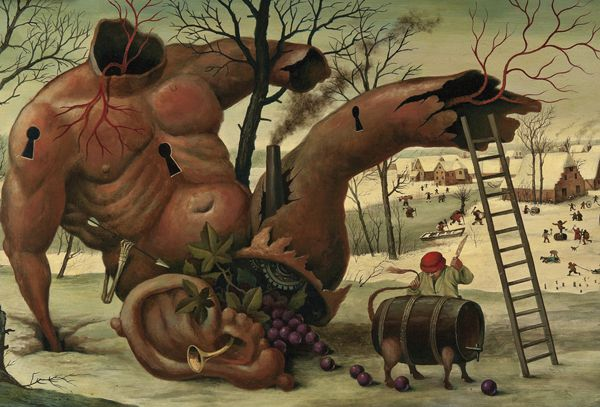 Pinturas Surrealismo Mike Davis (10)