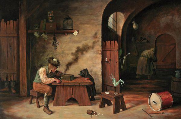 Pinturas Surrealismo Mike Davis (9)