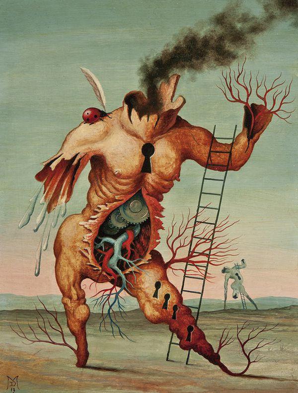 Pinturas Surrealismo Mike Davis (8)
