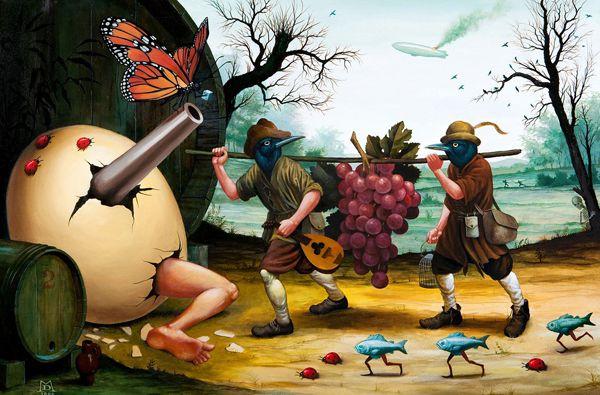 Pinturas Surrealismo Mike Davis (7)