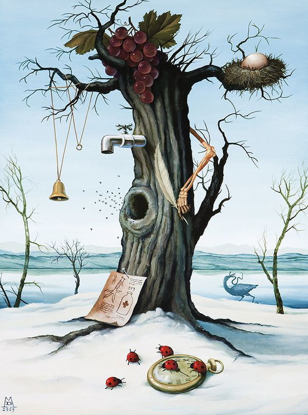 Pinturas Surrealismo Mike Davis (4)