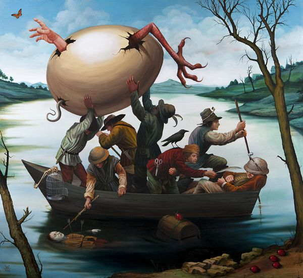 Pinturas Surrealismo Mike Davis (2)