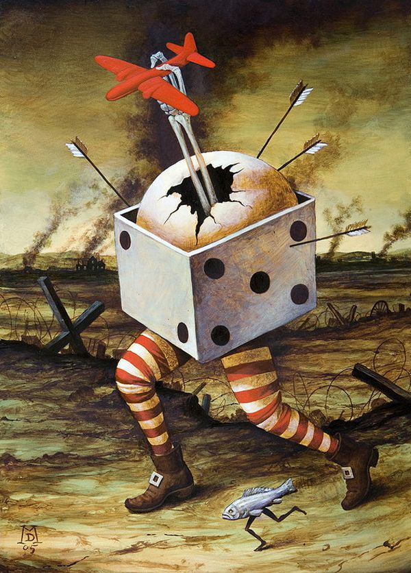 Pinturas Surrealismo Mike Davis (1)