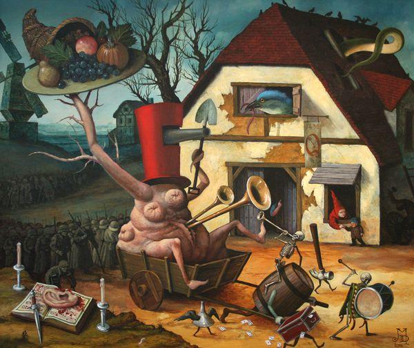 Pinturas Surrealismo Mike Davis (12)