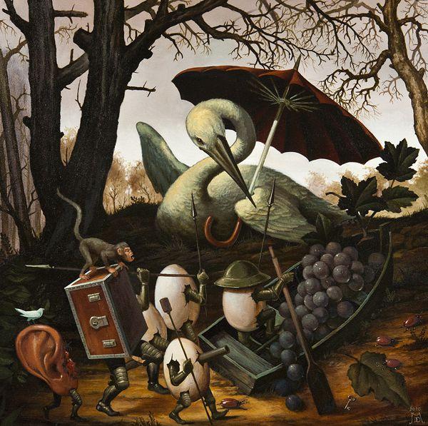 Pinturas Surrealismo Mike Davis (11)