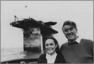 Roy Bates y su esposa Joan