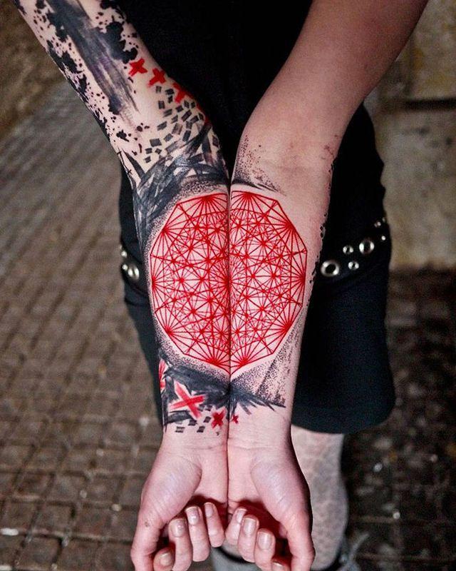 26 ejemplos de tatuajes estilo acuarela artistica 05