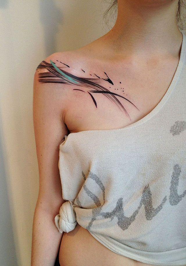 26 ejemplos de tatuajes estilo acuarela artistica 08