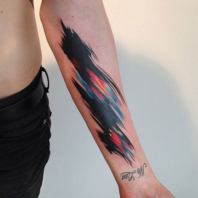 26 ejemplos de tatuajes estilo acuarela artistica 14