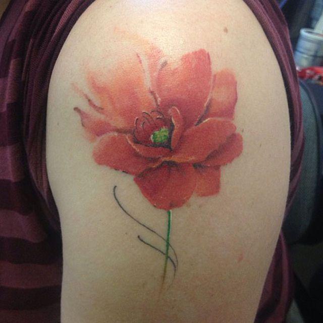 26 ejemplos de tatuajes estilo acuarela artistica 15