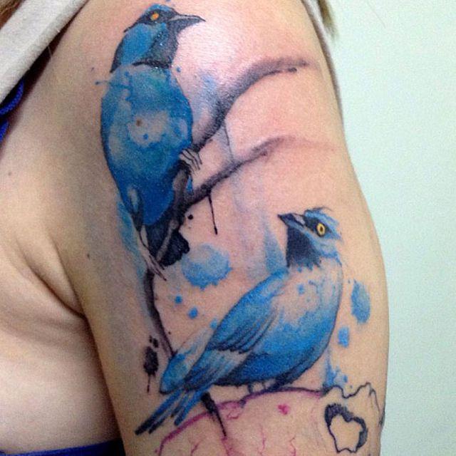 26 ejemplos de tatuajes estilo acuarela artistica 17