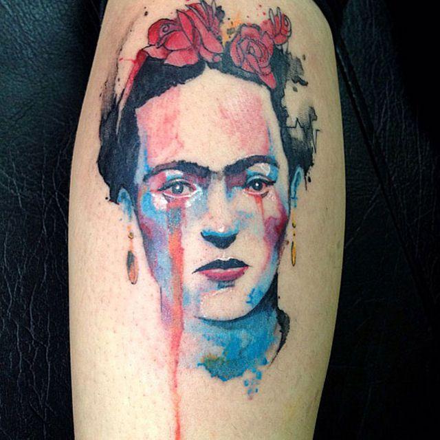 26 ejemplos de tatuajes estilo acuarela artistica 18