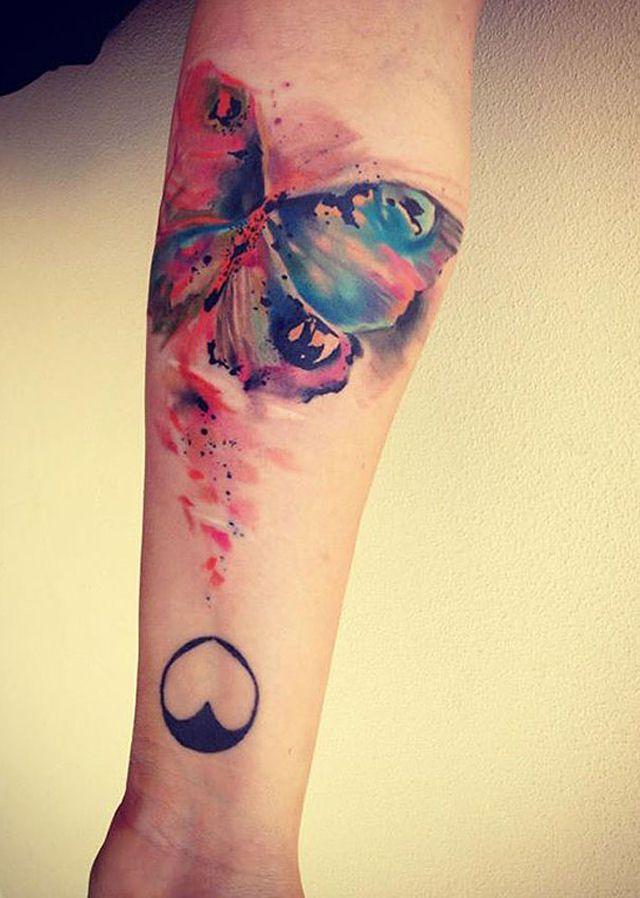26 ejemplos de tatuajes estilo acuarela artistica 21