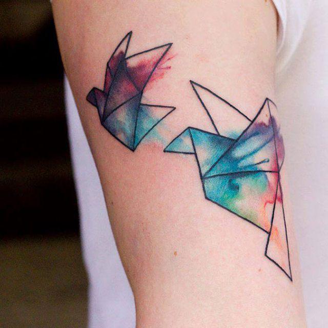 26 ejemplos de tatuajes estilo acuarela artistica 25