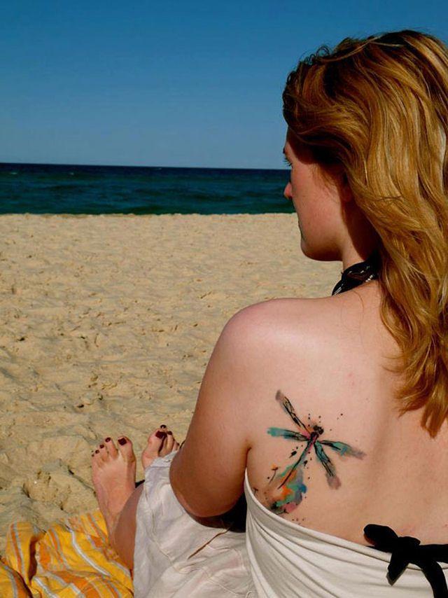 26 ejemplos de tatuajes estilo acuarela artistica 26