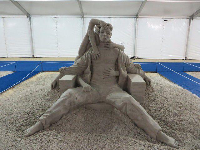 Esculturas arena Guy-Olivier Deveau (5)