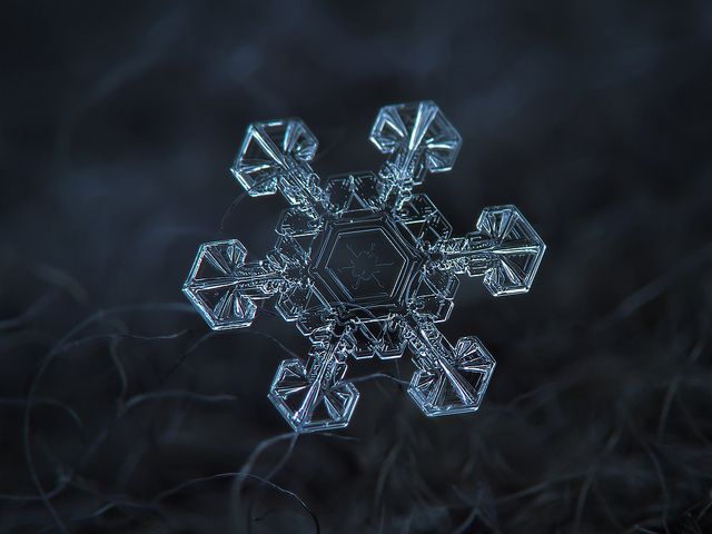 Fotografías de copos de nieve (19)