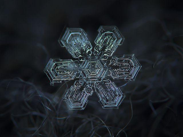 Fotografías de copos de nieve (9)
