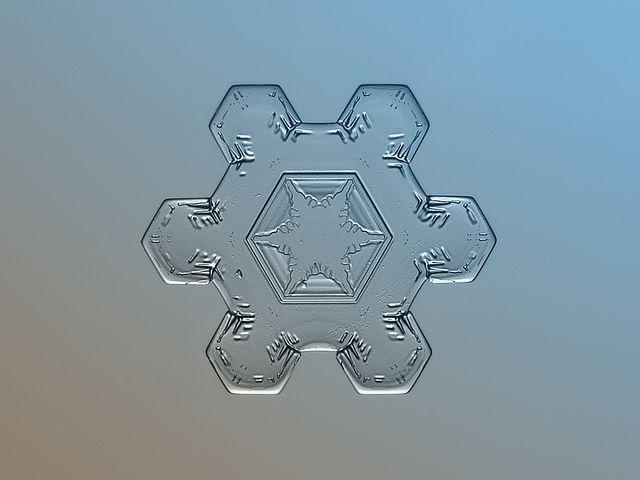Fotografías de copos de nieve (8)