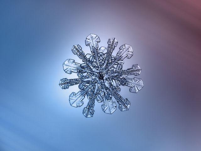 Fotografías de copos de nieve (26)