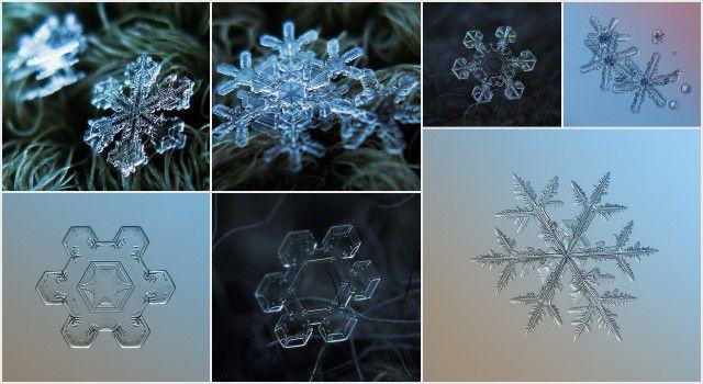 Fotografías de copos de nieve (4)