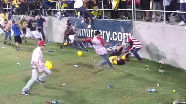 futbol incidente
