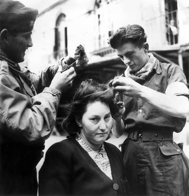 Épuration Légale martirio viudas régimen nazi (1)