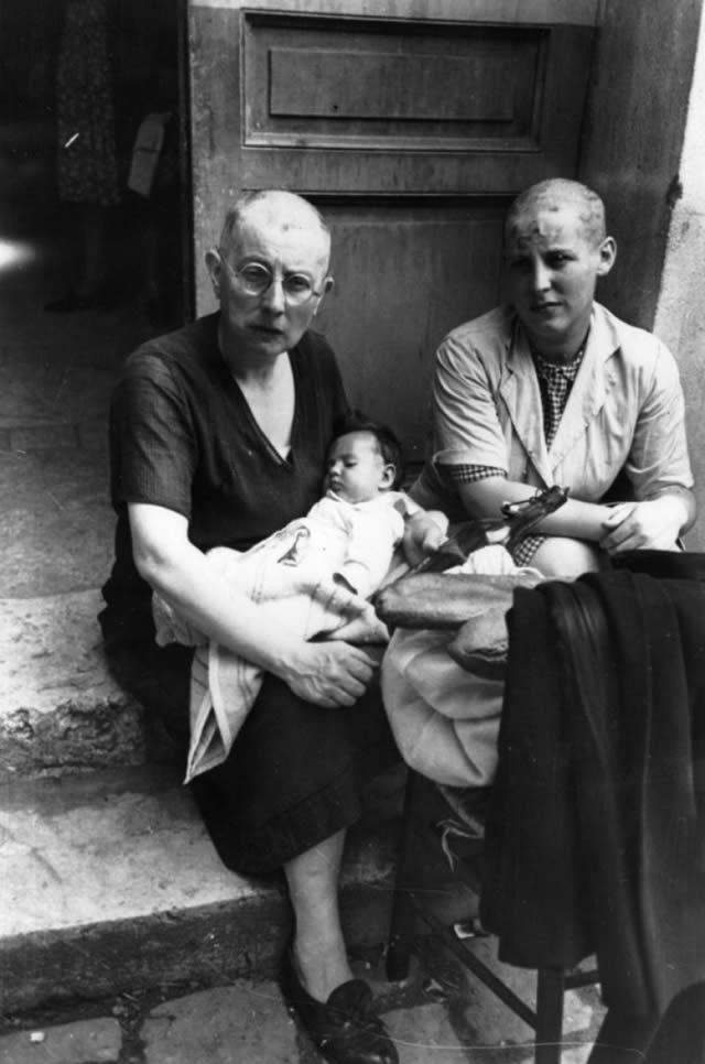 Épuration Légale martirio viudas régimen nazi (7)
