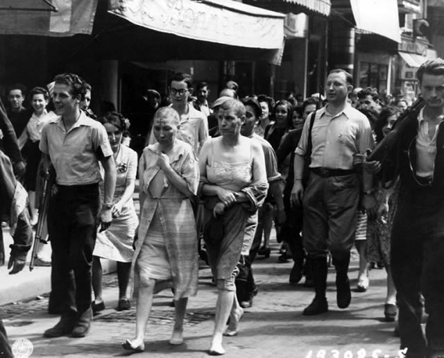 Épuration Légale martirio viudas régimen nazi (5)