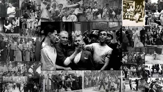 martirio de las viudas del régimen nazi