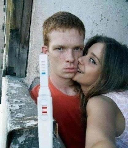 novia embarazada