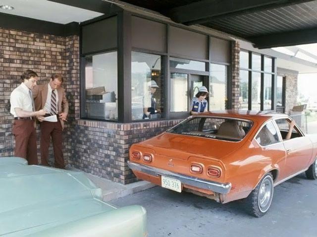 McDonald's con servicio drive-thru
