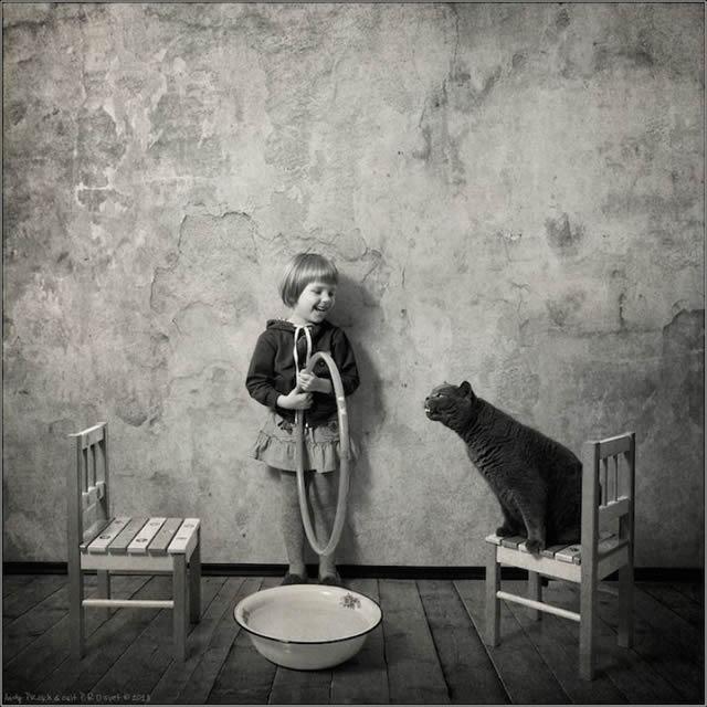 Andy Prokh Niña y el Gato (8)