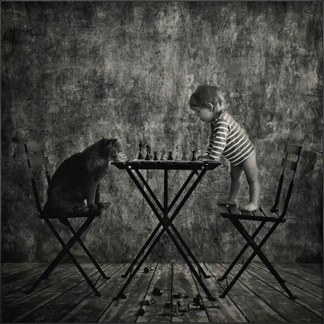 Andy Prokh Niña y el Gato (7)
