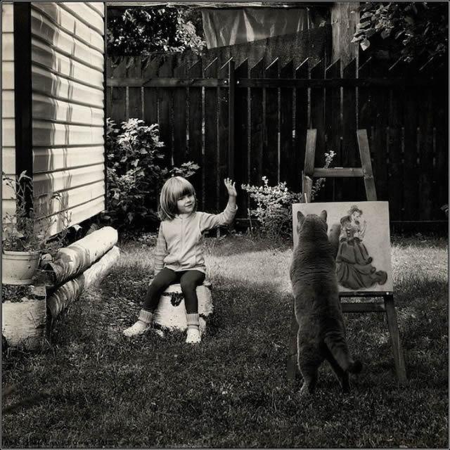 Andy Prokh Niña y el Gato (5)