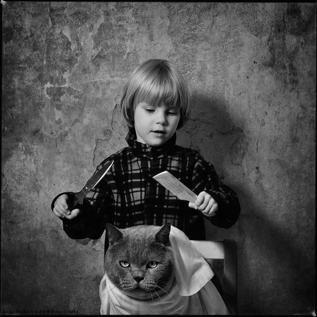 Andy Prokh Niña y el Gato (21)