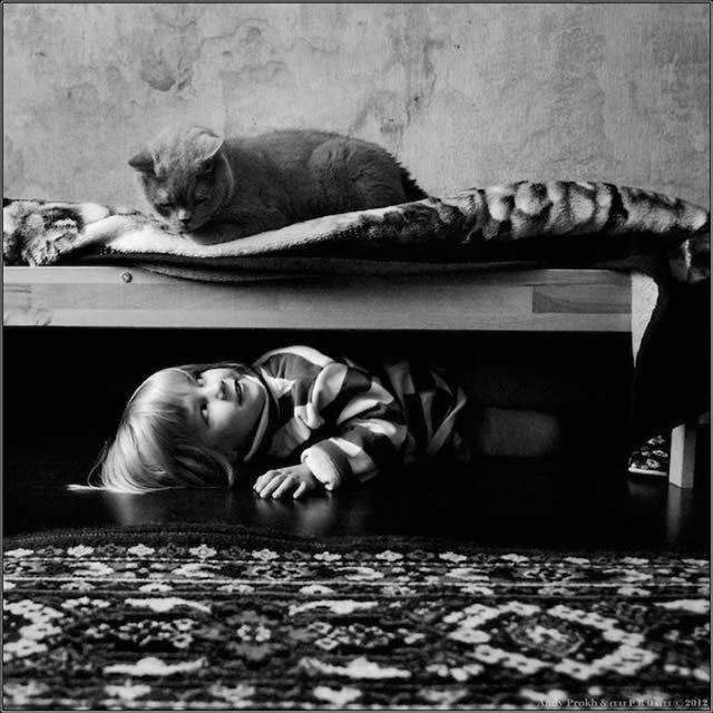 Andy Prokh Niña y el Gato (20)