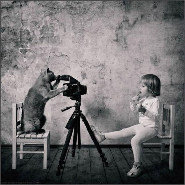 Andy Prokh Niña y el Gato (2)