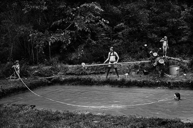 vida cotidiana de seis hermanos naturaleza Alain Laboile (2)