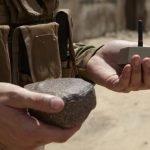 Nueva arma del Ejercito de los Estados Unidos: una piedra