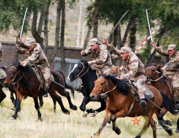 división de caballería del ejército chino